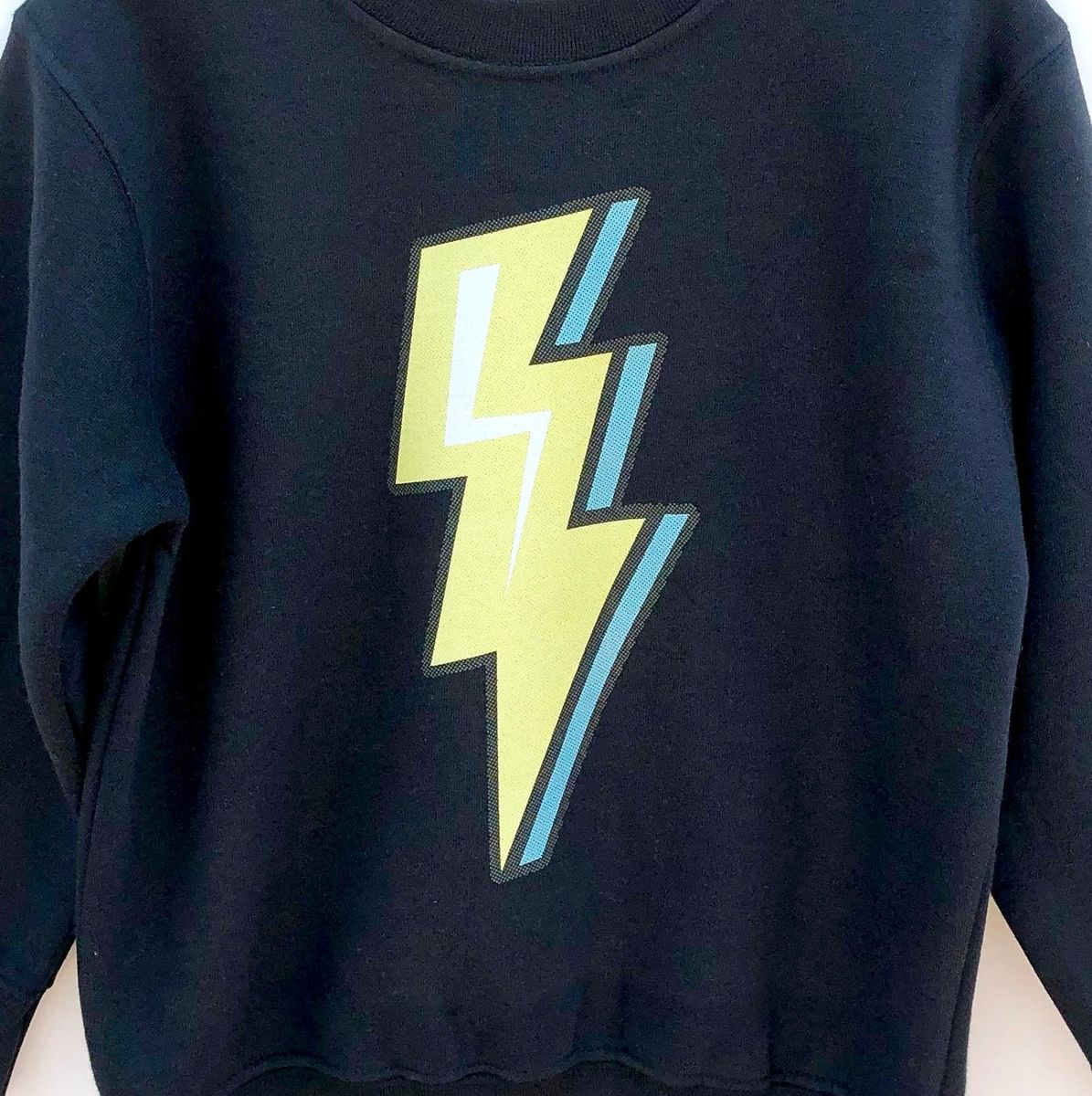 Lightning Bolt Black or White T-Shirt - product images  of