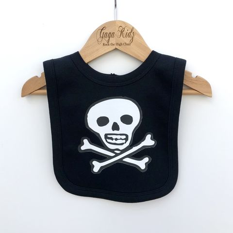 Pirate,Jolly,Rogers,Baby,Bib,pirate baby bib, jolly rogers baby bib, skull n crossbones baby, pirate baby, cute baby bib, cotton baby bib, funny baby bib, cute baby clothes, funny baby clothes, unique baby gifts, baby fancy dress, baby shower gift, cool baby bib, cool baby clothes