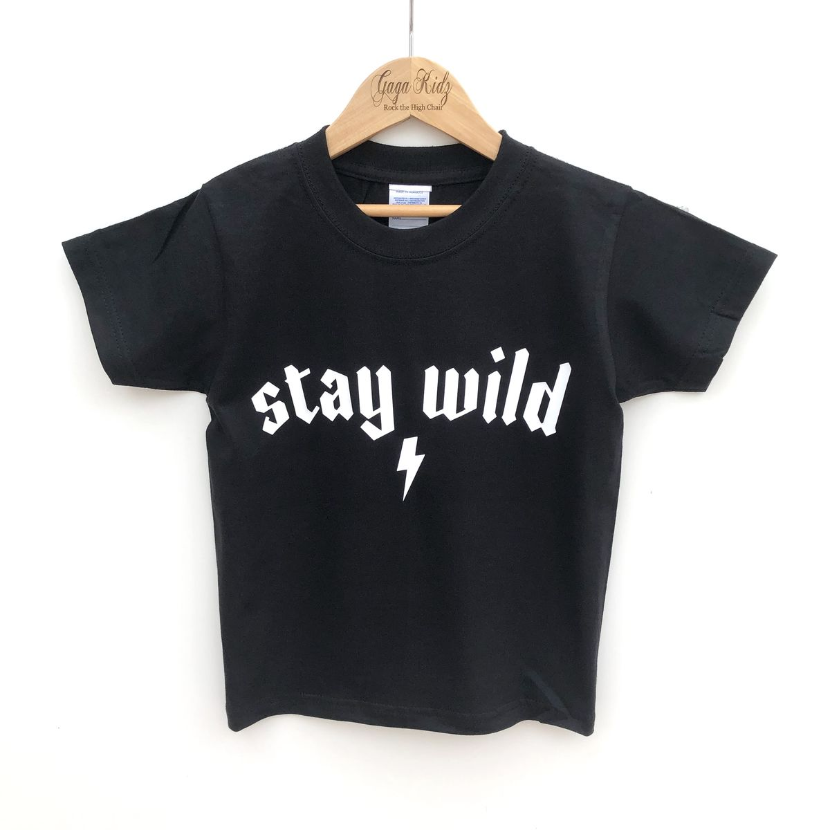 Stay Wild Black or White T-Shirt - product images  of