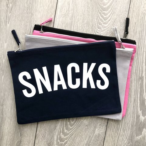Kids,SNACK/TREAT,Bag,(Various,Colours),snack bag, treat bag, small canvas travel zipper wallet, back to school gift, lunch bag, travel pouch, day out bag, food bag, candy bag, lunch box, sandwich bag, snack pouch, sweet bag