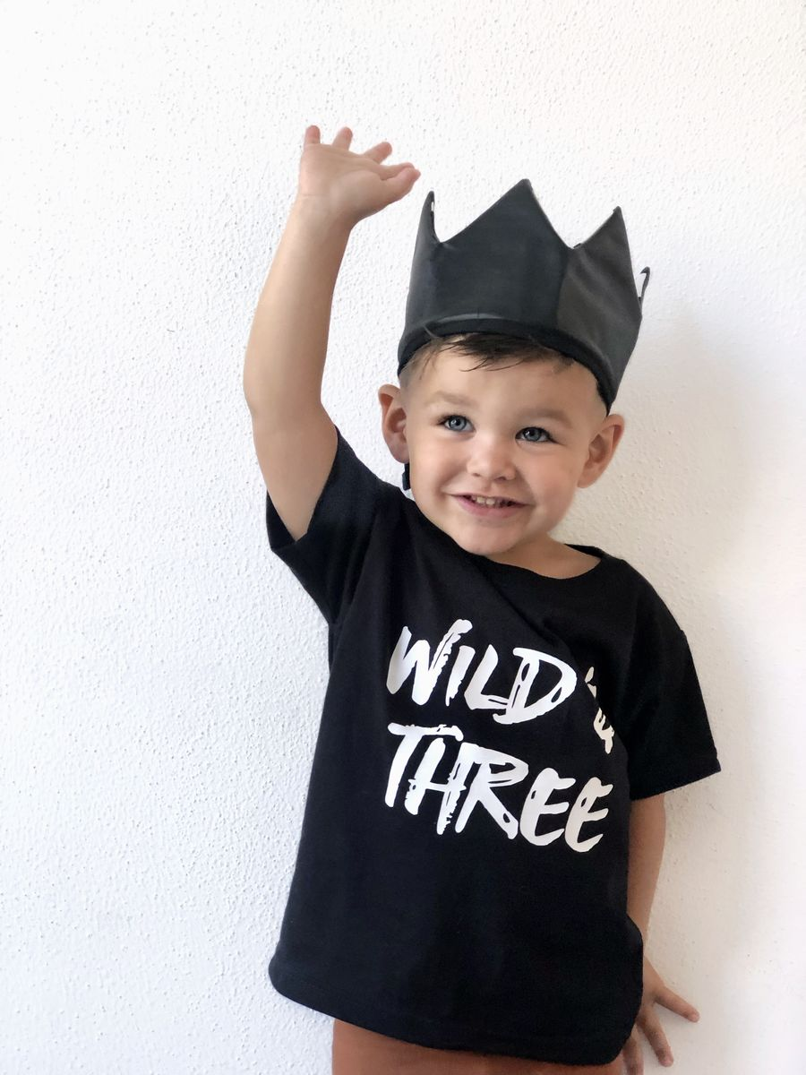 Wild & Three Black or White T-Shirt - product images  of