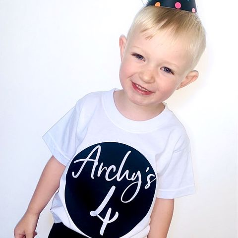 Custom,Name/Age,Birthday,T-Shirt,kids, baby, youth, infant, toddler, trendy t-shirt, shirt, tee, top, boy, girl, unisex, birthday, party, outfit, gift, 1st, 2nd, 3rd, 4th, 5th, 6th, 7th, 8th, 9th, 10th, first, second, third, fourth, fifth, sixth, seventh, 1, 2, 3, 4, 5, 6, 7, 8, 9, 10