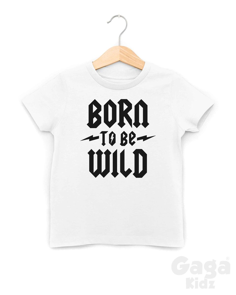 Born To Be Wild Black or White TShirt - product images  of