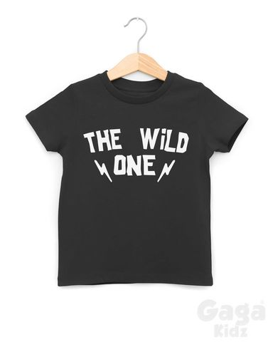The,Wild,One,Black,or,White,T-Shirt,the wild ones, wild and one, wild and 1, wild tshirt, wild kids, wild baby, first birthday gift, first birthday shirt, first birthday outfit, trendy baby tshirt, trendy kids tshirt, hipster kids shirt, hipster baby shirt, cool kids clothes, kids 1st tshir