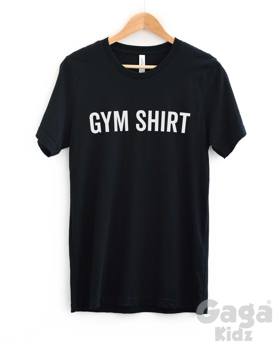 Gym Adult Black or White T-Shirt - product images  of