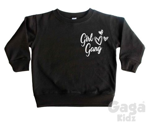 Girl,Gang,Sweatshirt,girl gang, girl squad, besties, little feminist, wild girl, wild child, wild one, kids sweatshirt, kids sweater, crew neck sweater, baby sweater, baby sweatshirt, toddler sweatshirt, girls sweater, girls clothes