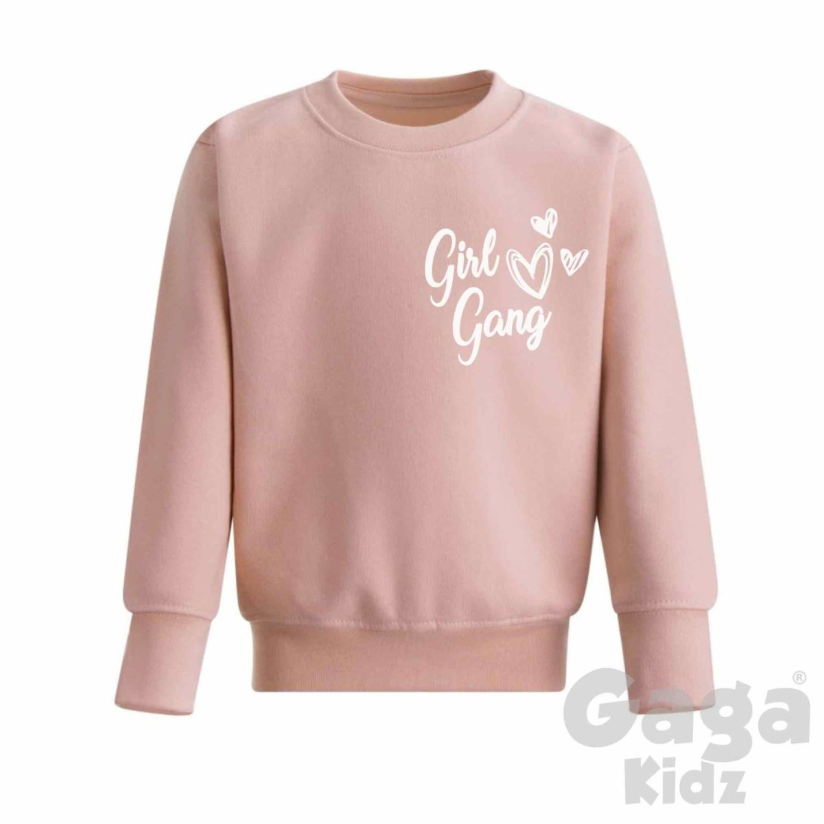 Girl Gang Dusty Pink Sweatshirt - product images  of