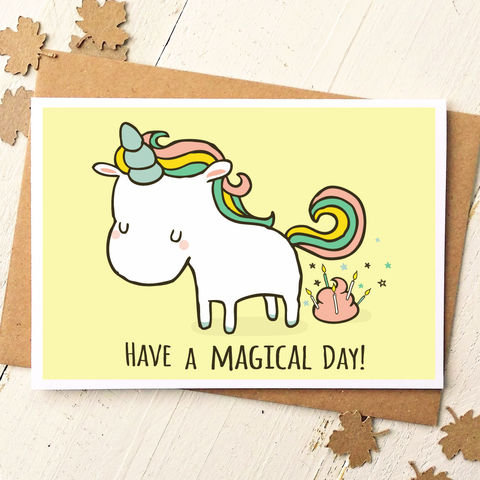 MAGICALDAYBIRTHDAYCARDfunny Card Funny Cards Birthday