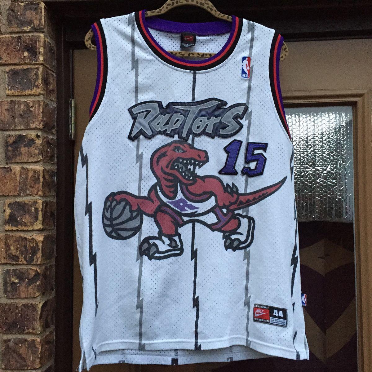 best cheap 4a257 5b21a Vintage Nike Toronto Raptors Vince Carter Jersey
