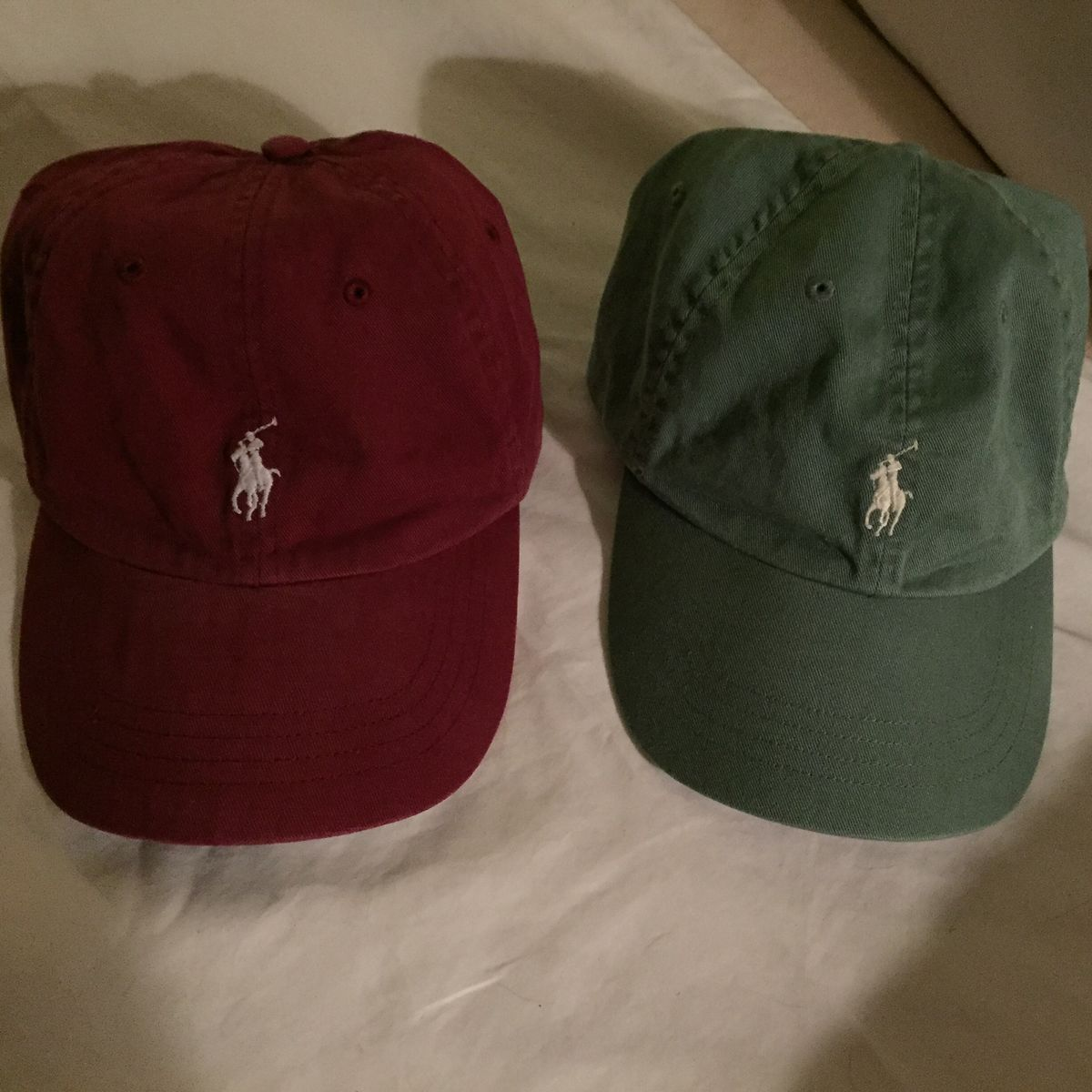 Polo Ralph Lauren Leather Strap Back Hats (BOTH HATS) - product images of  ... 061c253482a9