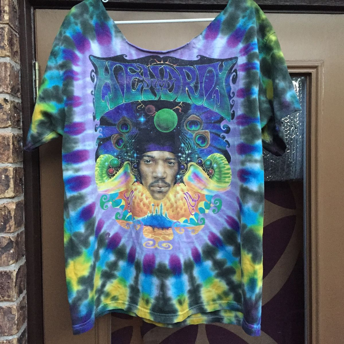 f0f93efe39c Amazing Vintage 1997 Jimi Hendrix Tie Dye - product images of ...
