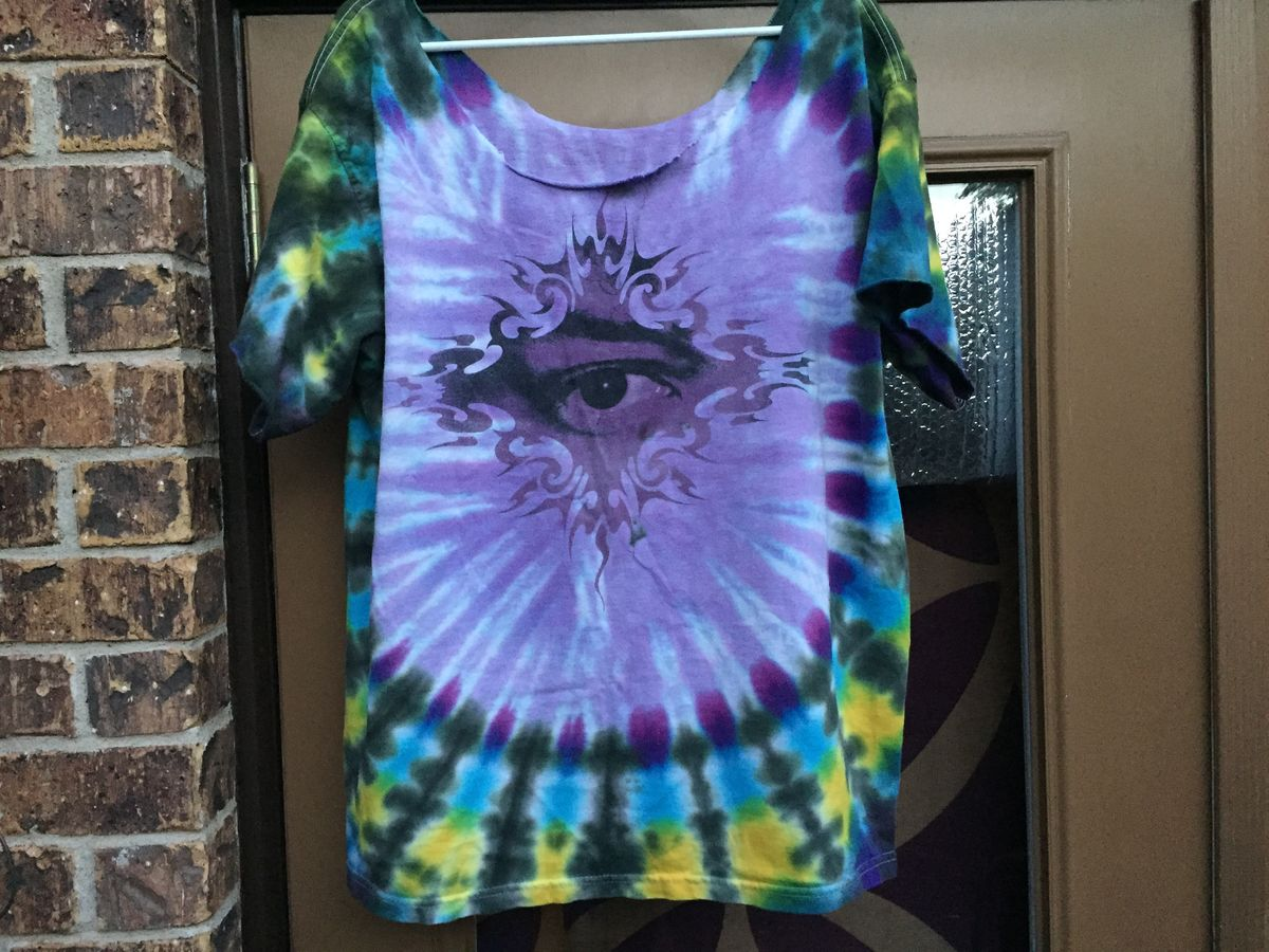 ad7f3dba53b ... Amazing Vintage 1997 Jimi Hendrix Tie Dye - product images of