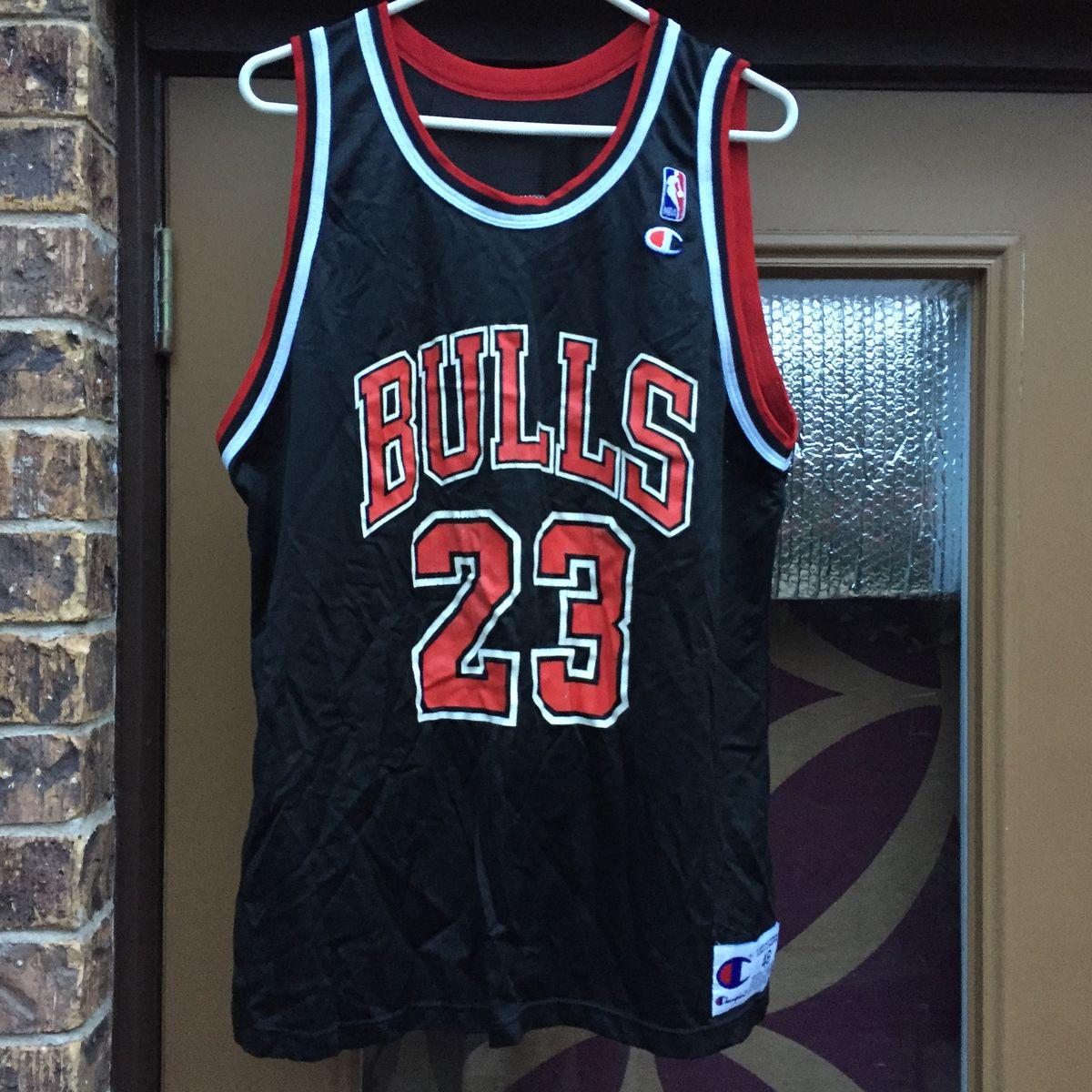 half off fa3d3 9912d Vintage 90s Chicago Bulls Michael Jordan Champion Jersey