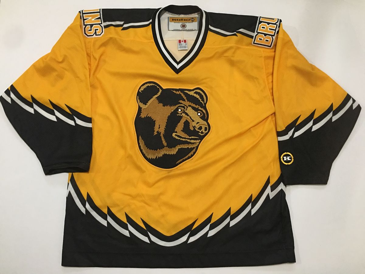 Rare 90s NHL Boston Bruins