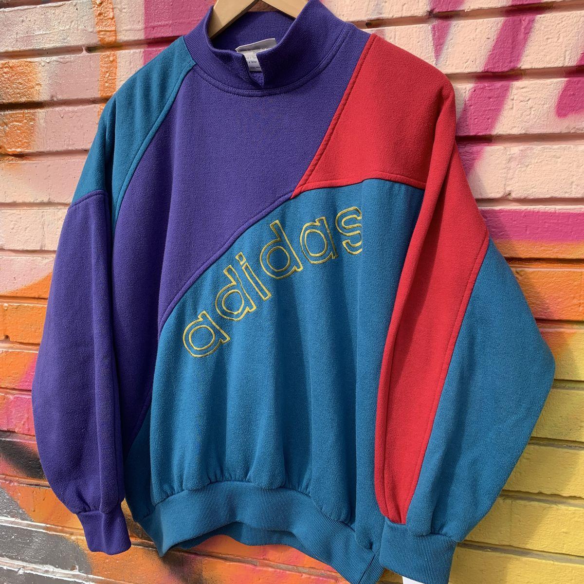 Vintage Vintage Sweatshirt Adidas Sweatshirt Adidas Adidas Vintage Vintage Sweatshirt W29bDHeYEI