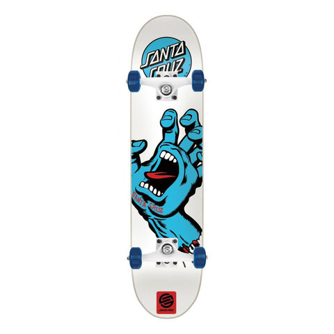 Santa,Cruz,Screaming,Hand,7.75,Complete,Skateboard,Santa Cruz Screaming Hand 7.75 Full Size Complete Skateboard, complete skateboards in london, best beginner skateboards, skate shop london