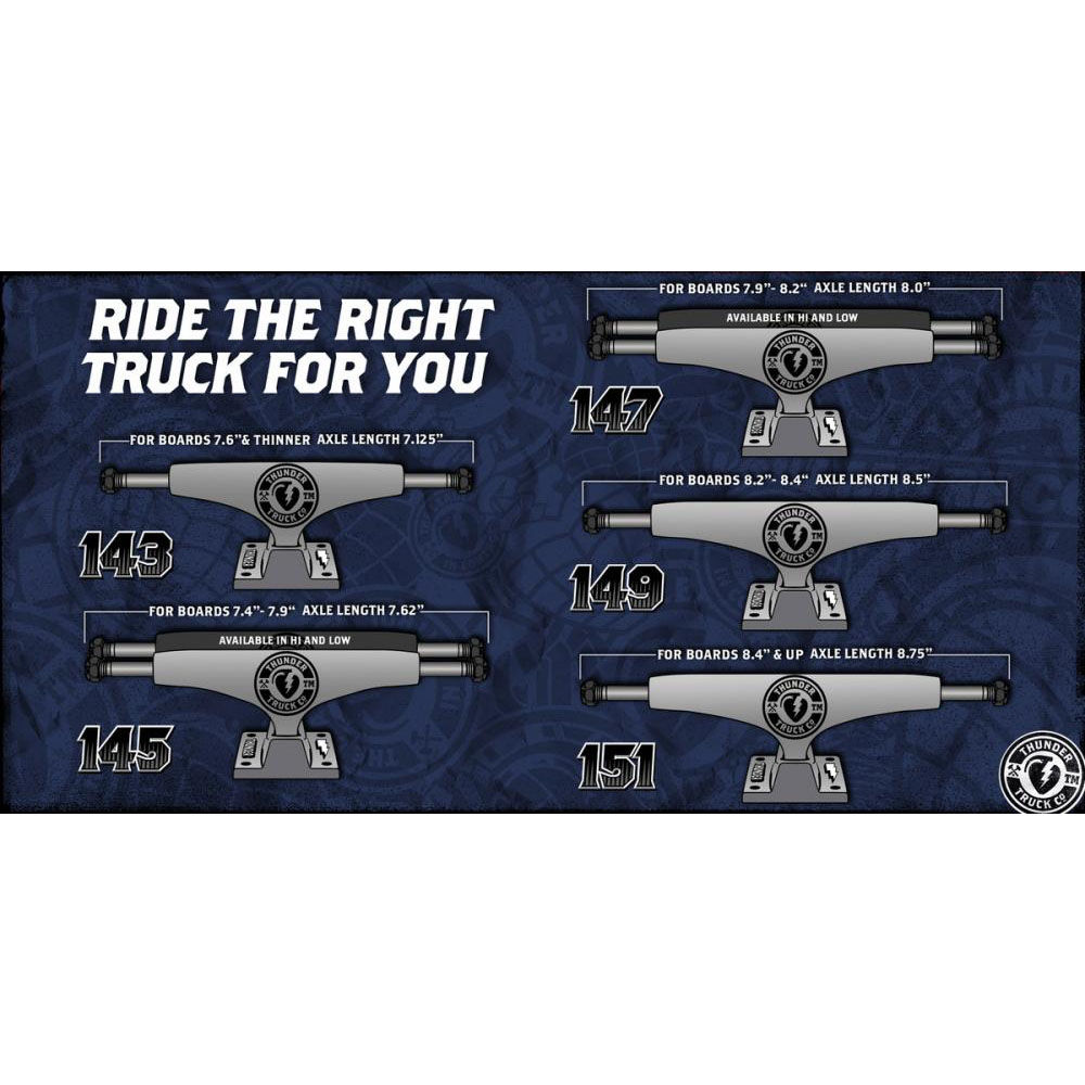 Thunder LTD Hollow Lights 147 Trucks  - product images  of