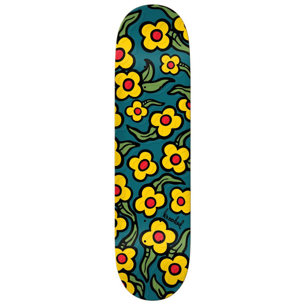 Krooked Wild Style Flowers Deck 8.5