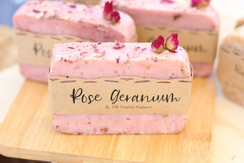 Little,Essentials,Rose,Geranium,soup,soap, beauty, add on