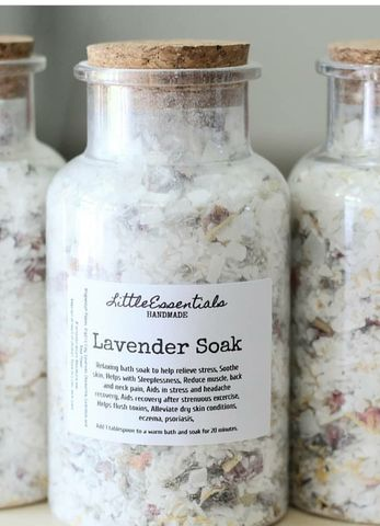 Lavender,and,Rose,Bath,Soak