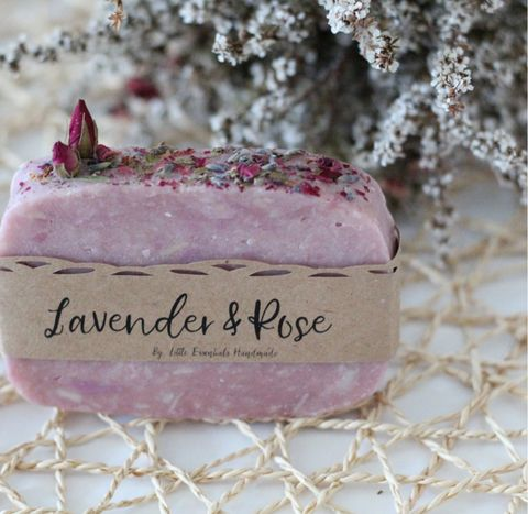 Little,Essentials,Rose,and,lavender,soap, beauty, add on