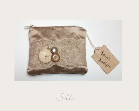 Gold,Coin,Purse,hemp silk, ethical purse,coin purse,vintage purse,handmade in Britain, eco xmas gifts