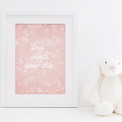 You,Shall,Sparkle,Print,-,Nursery,For,Girls,Bedroom,New,Baby,Girl,Art,Printmaking,A4_print,typography,stylish_art,wall_art,typography_art,print,pretty_print,nursery_print,little_girls_print,pink_bokeh,you_shall_sparkle,sparkle