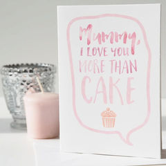 Love,You,More,Than,Cake,Mother's,Day,Card,-,Funny,For,Mum,Mom,Paper_Goods,Cards,card,greetings_card,mothers_day_card,mothers_day,mummy,mum,mommy,mom,love_you,more_than_cake,cake,pink,card_for_mum