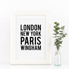 Location,Print,-,Personalised,Black,and,White,London,New,York,Typography,Art,Digital,A4_print,typography_print,black_and_white,typography,art_for_the_home,monochrome_print,new_home_print,house_warming,location,london,new_york,house_gift,new_home_gift