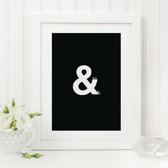 You,&,Me,Print,-,Ampersand,Romantic,Black,and,White,Monochrome,Stylish,Modern,Couples,Art,Printmaking,typography_print,black_and_white,typography,typography_art,ampersand,black_print,you_and_me,anniversary_gift,couples_gift,romantic_print,ampersand_print,valentines_print,anniversary_print