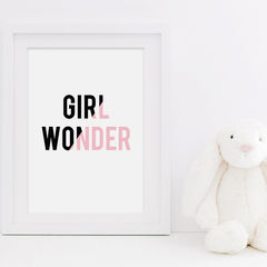 Girl,Wonder,Print,-,Kids,Bedroom,Girls,Baby,Gift,for,Nursery,Art,Digital,typography_print,typography,new_baby_print,nursery_print,girls_print,girl_wonder,girls_bedroom_decor,girls_bedroom_print,baby_girls_print,girl_wonder_print,print_for_girls,childrens_print,sweetlove_press