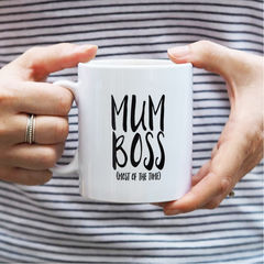 Mum,Boss,Mug,-,Gift,For,Mother's,Day,mum boss, mum boss mug, mug, mother's day gift, gift for her, gift for mum, new mum gift, mum mug