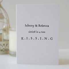 Kissing,Personalised,Valentine's,Card,-,Anniversary,Romantic,Engagement,Wedding,Couples,kissing, sitting in a tree, personalised card, valentines card, Paper_Goods,Cards,card,greetings_card,romantic_card,valentines_day_card,anniversary_card,valentines_card,personalised_card,custom_card,personalized_card,couples_card,love_card,me_and_you_card