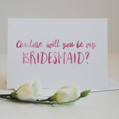 Be,My,Bridesmaid,Card,-,Wedding,bridesmaid, bridesmaid card, be my bridesmaid card, be my bridesmaid, card, greetings card, wedding,