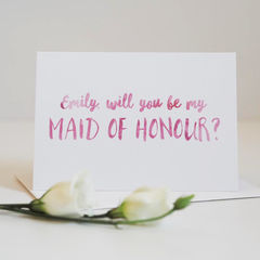 Be,My,Maid,of,Honour,Card,-,Wedding,maid of honour, maid of honour card, be my maid of honour card, be my maid of honour, card, greetings card, wedding,