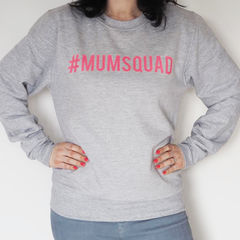 Mum,Squad,Sweater,mum squad sweater, mum squad jumper, mum jumper, mum sweater, mother jumper, jumper for mum, gift for mum, mothers day gift, mum squad hashtag, #mumsquad