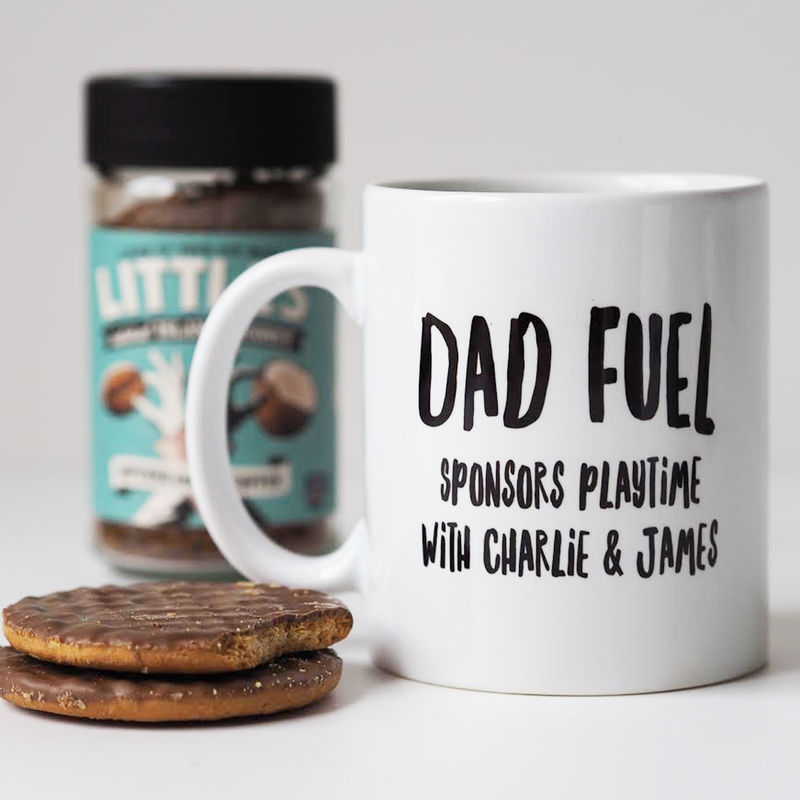 Dad Fuel Personalised Mug - Mug for Dad - Father's Day Gift - Personalised Mug - product images  of
