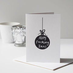 Rude,Sweary,Funny,Christmas,Cards,-,Merry,Fucking,Adult,Paper Goods,card,christmas card, christmas, funny christmas card, rude christmas card, merry fucking christmas, swear christmas card, alternative christmas card, christmas card