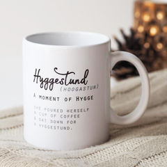 A,Moment,of,Hygge,Mug,-,Hyggestund,Personalised,Coffee,hand lettered quote mug, quote mug, mug for her, gift for her, gift for new mum, relax, relax you are doing just fine, new mum gift, mug for mum, mug her for