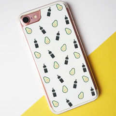 Gin,and,Avocado,iPhone,7,Case,-,iPhone case, iPhone 7 case, gin, avocado, gin iPhone case, avocado iPhone case, gin and avocado, iPhone cover, iPhone 7 cover