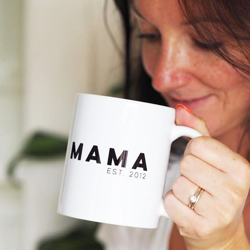 MAMA Personalised Mug for Mum - Mother's Day Gift - Personalised Mug For New Mum - product images  of