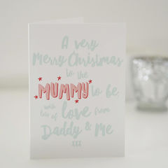 Mummy,To,Be,Merry,Christmas,Card,-,For,Paper Goods,card,christmas card, christmas, personalised christmas card, christmas card for mummy, merry christmas mummy, mummy christmas card, mummy to be, new mum, mummy to be card, new mum christmas card, pregnant mum christmas card, christmas card for