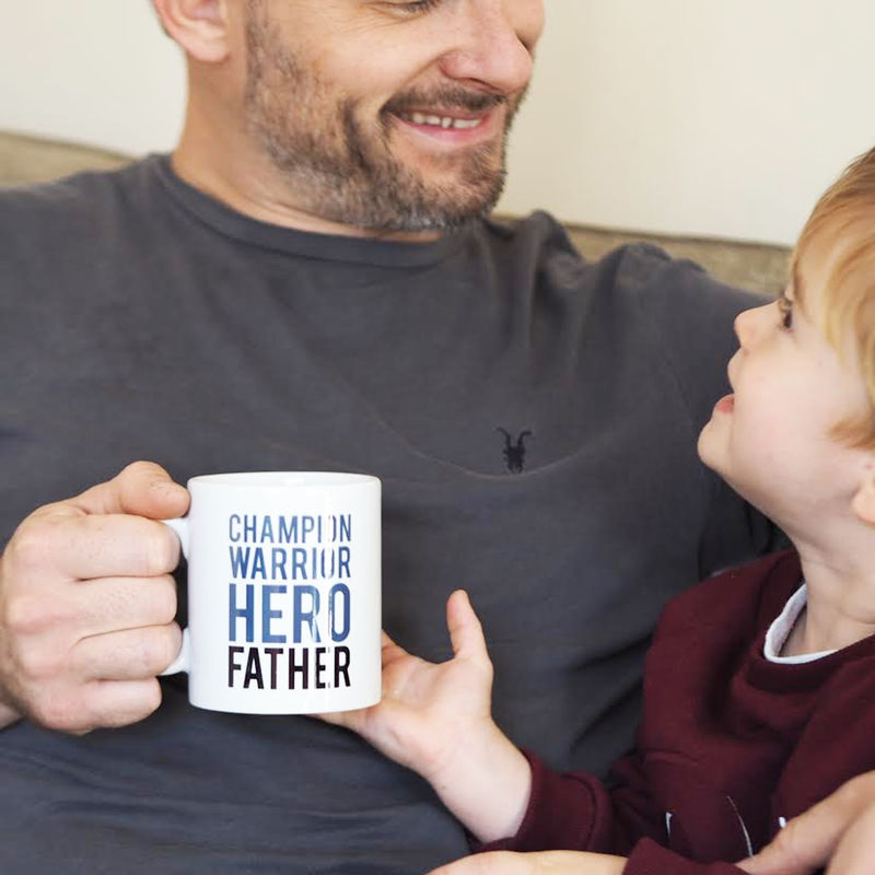 Champion Warrior Hero Father Mug Gift for Dad - Father's Day Gift - product images  of