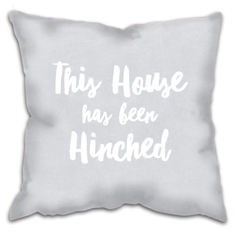 This House Has Been Hinched Cushion - product images  of