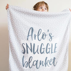 Personalised,Name,Snuggle,Blanket,personalised blanket, new born baby gift, new baby blanket, keepsake blanket, star blanket, faux fur, fleece blanket