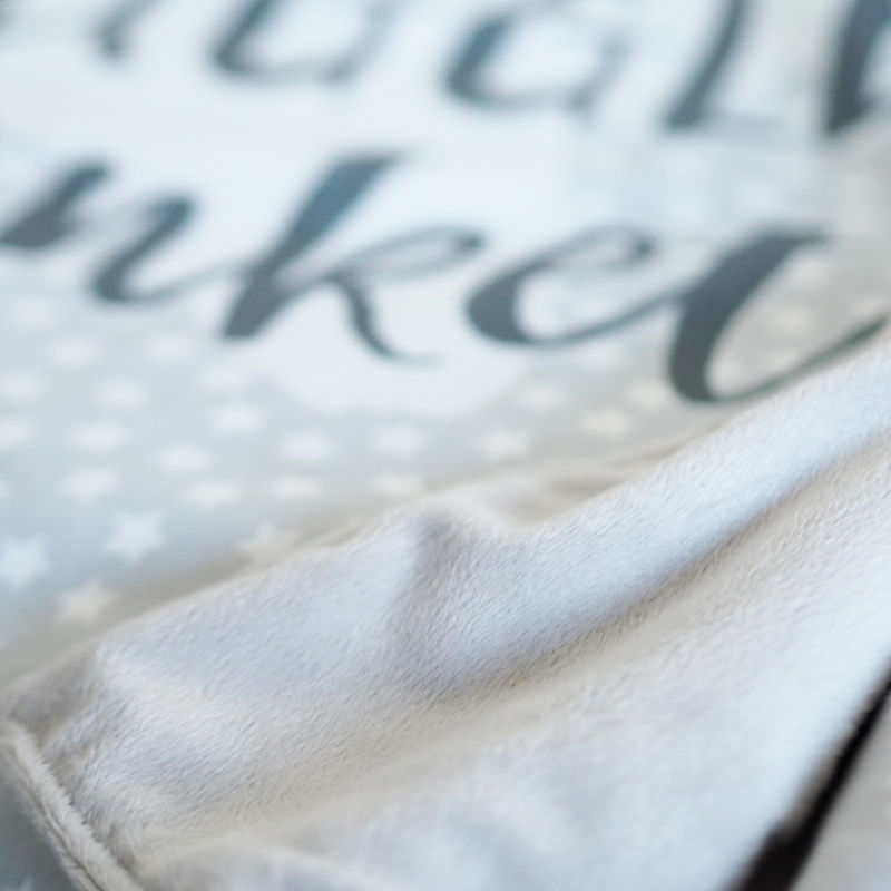Personalised Name Snuggle Blanket - product images  of