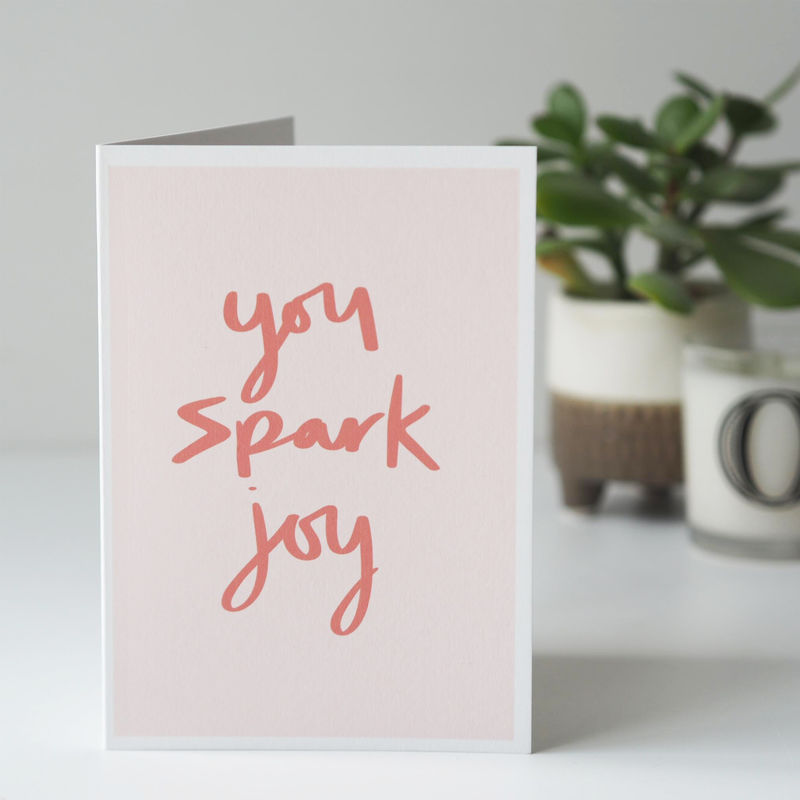 You Spark Joy Card - product images  of