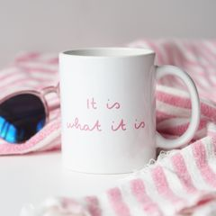 It,Is,What,Love,Island,Mug,love island, love island mug, love island quote, it is what it is, muggy, I got a text