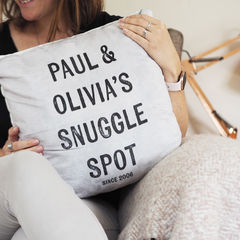 Snuggle,Spot,Cushion,-,Couples,Personalised,New,Home,Gift,for,Wedding,Anniversary,Housewares,Pillow,cushion,personalised_cushion,custom_cushion,personalized_cushion,couples_cushion,gift_for_couples,wedding_gift,engagement_gift,snuggle_cushion,cushion_gift,faux_suede_cushion,printed_cushion,customized_cushion