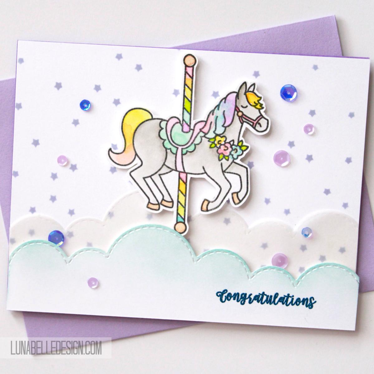 Carousel Congratulations Luna Belle Design